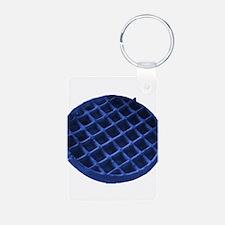 Blue Waffle Keychains