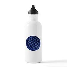 Blue Waffle Water Bottle