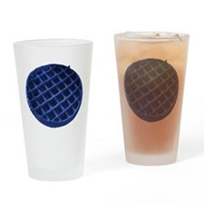 Blue Waffle Drinking Glass