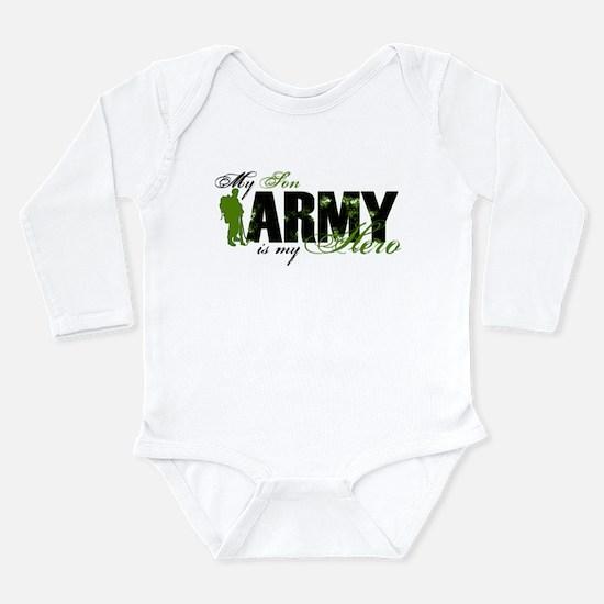 Son Hero3 - ARMY Long Sleeve Infant Bodysuit