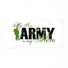 Son Hero3 - ARMY Aluminum License Plate