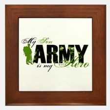 Son Hero3 - ARMY Framed Tile