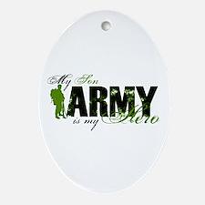 Son Hero3 - ARMY Ornament (Oval)