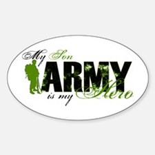 Son Hero3 - ARMY Sticker (Oval)