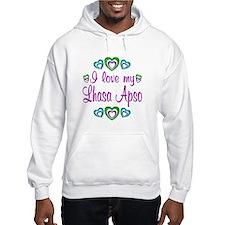 Love My Lhasa Apso Hoodie