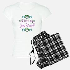 Love My Jack Russell Pajamas