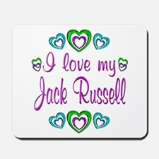 Love My Jack Russell Mousepad