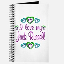 Love My Jack Russell Journal