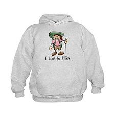 Hike Rocky Mtns (Girl) Hoodie
