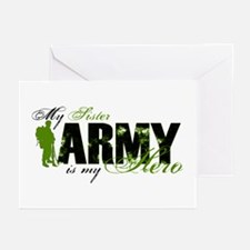 Sister Hero3 - ARMY Greeting Cards (Pk of 10)