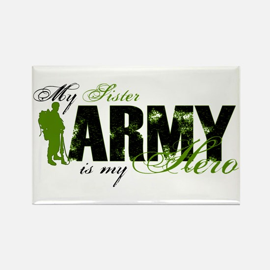 Sister Hero3 - ARMY Rectangle Magnet