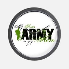 Sister Hero3 - ARMY Wall Clock