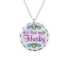 Love My Husky Necklace