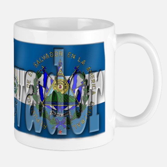 Silky Flag of El Salvador Mug