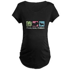 Peace, Love, Clumbers T-Shirt
