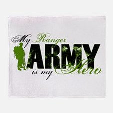 Ranger Hero3 - ARMY Throw Blanket