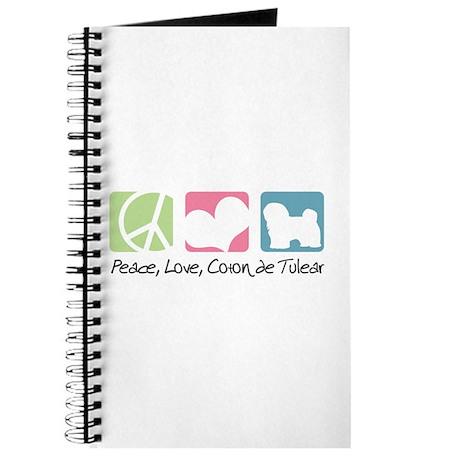 Peace, Love, Coton de Tulear Journal