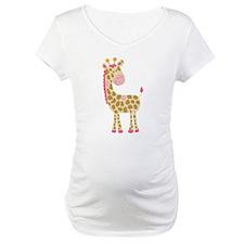 Jungle Jill Pink Giraffe Shirt