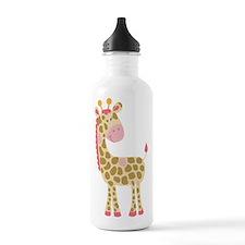 Jungle Jill Pink Giraffe Water Bottle