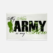 Niece Hero3 - ARMY Rectangle Magnet