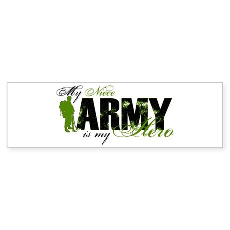 Niece Hero3 - ARMY Sticker (Bumper)