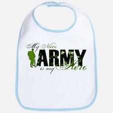 Niece Hero3 - ARMY Bib