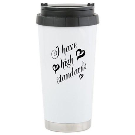High Standards Stainless Steel Travel Mug