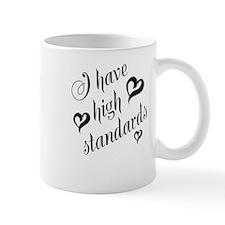 High Standards Mug