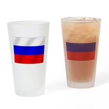 Flag of Russia Drinking Glass