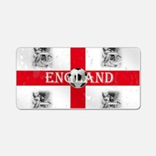 England St Georges Football Aluminum License Plate