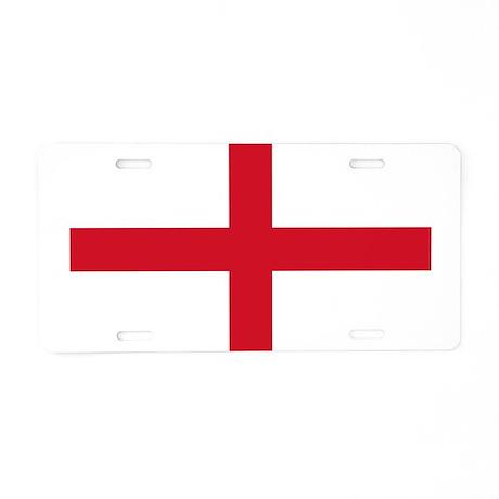 Flag of England Aluminum License Plate