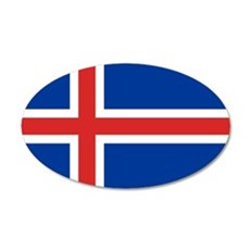 Flag of Iceland Wall Decal
