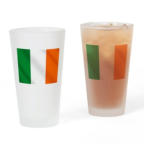 Irish flag of Ireland Drinking Glass