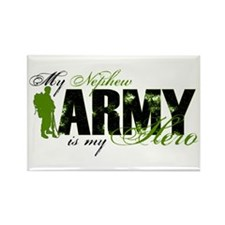 Nephew Hero3 - ARMY Rectangle Magnet