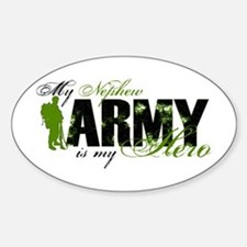 Nephew Hero3 - ARMY Sticker (Oval)