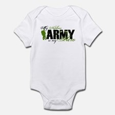 Nephew Hero3 - ARMY Infant Bodysuit