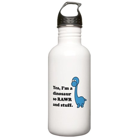 Dino Rawr Stainless Water Bottle 1.0L