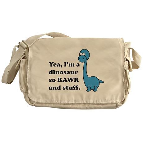 Dino Rawr Messenger Bag