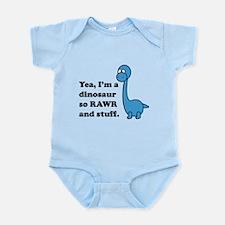 Dino Rawr Infant Bodysuit