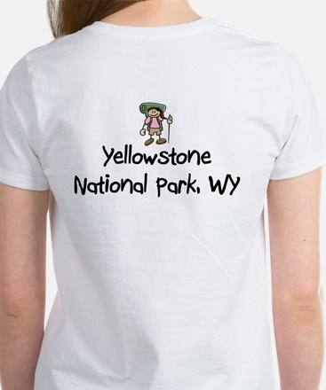 Hike Yellowstone (Girl) Women's T-Shirt