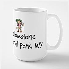 Hike Yellowstone (Girl) Mug