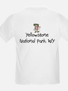 Hike Yellowstone (Girl) T-Shirt