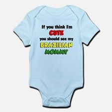 Cute Brazilian Mommy Infant Bodysuit