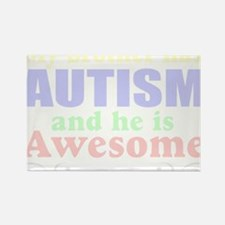 Awesom autism brother Rectangle Magnet (10 pack)