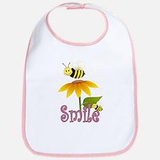Bee Flower Bib