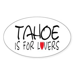 Tahoe Oval Decal