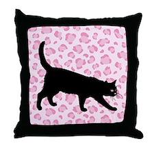 Cat Spots Throw Pillow