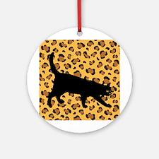 Cat Spots Ornament (Round)