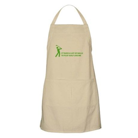 Takes a lot of balls. Golf Apron