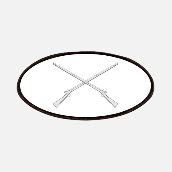 Crossed Muskets Patches